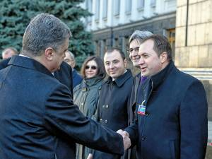 Deputatul Ion Marocico s-a întâlnit cu preşedintele şi premierul Ucrainei