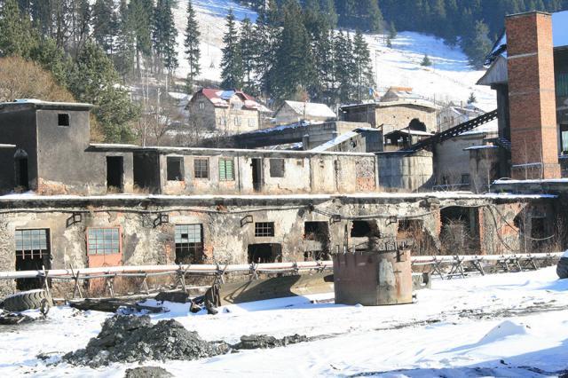Vechea clădire administrativă, de peste 100 de ani