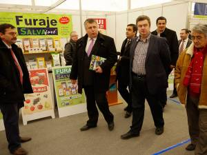Oficialităţile sucevene au fost prezente la inaugurarea celei de XIII-a ediţii a Agro Expo Bucovina