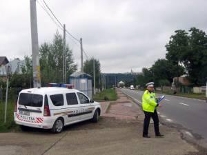 Acţiuni de control în trafic ale Serviciului de Poliţie Rutieră Suceava