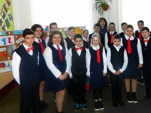 Activităţi cu elevi ai Școlii Todirești
