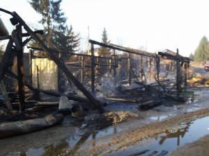 Puternicul incendiu de la societatea din Dorna Arini a lăsat pagube imense în urmă