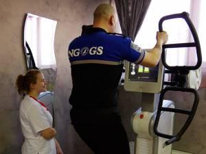 Aparatul care înlocuieşte sala de forţă şi cea de fitness