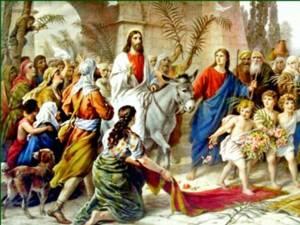 Intrarea Domnului în Ierusalim, Duminica Floriilor
