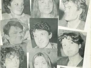 Studenţii repartizaţi în 1984 la secţia suceveană a Teatrului Naţional Vasile Alecsandri din Iaşi