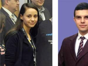Sucevenii Ana Maria Carpea şi Alexandru Ţigănescu şi-au adjudecat premiul al II-lea în cadrul celui mai important concurs de inginerie seismică din lume