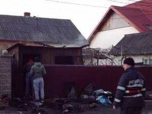 Incendiu la o cizmărie din Burdujeni
