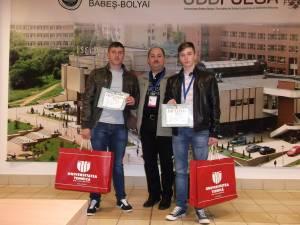 Alexandru Roşu şi Florin Foca au obţinut locul I la Olimpiada Naţională de Mecanică