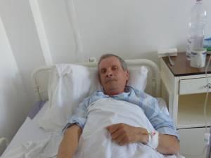 Ilie Frîncu, bărbatul care a fost stropit cu benzină şi incendiat