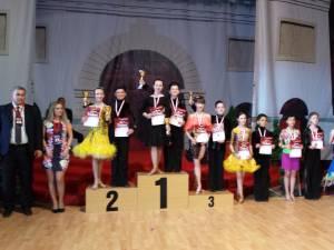 Darius Mazilu și Denisa Mazarache - locul I (D 12-13), Mario Bujoreanu și Ilinca Darabă - locul II (D 12-13)