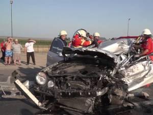 Maşina condusă de tânăra de 20 de ani, în ziua de 1 august 2014, în care a murit soţul său
