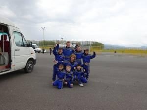 Premii pentru elevii de la Palatul copiilor Suceava la Concursul național de educație rutieră și karting