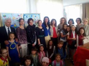 """Concursul """"Copiii Europei"""", organizat la Centrul Şcolar de Educaţie Incluzivă Suceava"""