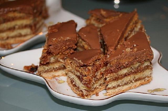 Prăjitură Greta Garbo, varianta ardeleană