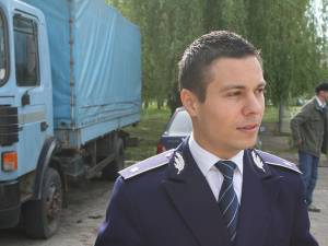 Subcomisarul Ionuţ Epureanu