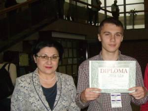 Andrei Ursulean cu Ecaterina Andronescu