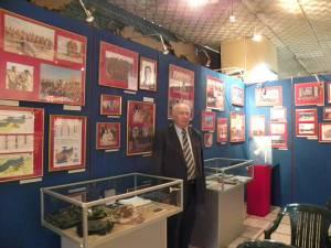 Un colţ din muzeul militar este dedicat eroului din Cornu Luncii