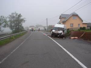 Accident mortal la Poiana Stampei