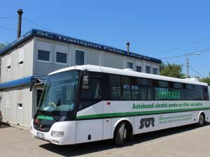 Autobuzul electric produs în Cehia circulă de astăzi pe străzile Sucevei