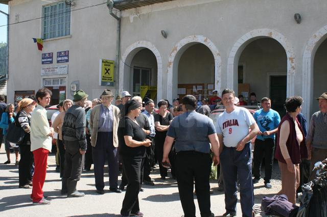 Sătenii spun că nu vor ceda până când contractul de închiriere a păşunii nu va fi reziliat