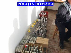 Alcoolul confiscat
