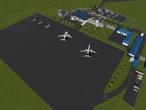 Primele imagini cu viitorul Aeroport Suceava