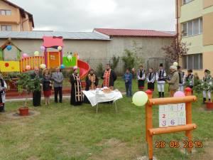 La Centrul Şcolar de Educaţie Incluzivă Suceava s-a inaugurat un spaţiu de joacă