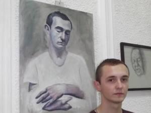 Matei Dumitriu, un tânăr talentat care doreşte să devină artist