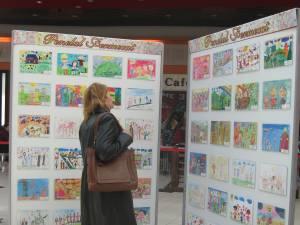 """Concursul """"Penelul fermecat"""", faza zonală, la Shopping City Suceava"""