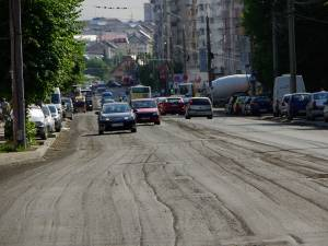 Bulevardul George Enescu va fi blocat parţial traficului rutier, timp de trei zile, începând de mâine dimineaţă