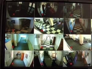 Camere audio-video la bac