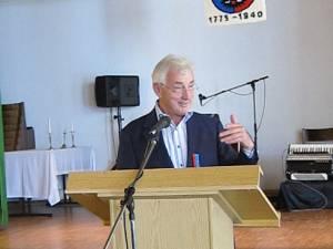 Avocatul german Ewald Zachmann, preşedinte de aproape 20 de ani al Asociaţiei Germanilor Bucovineni din Germania
