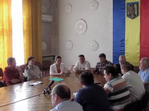 """Primarul Cătălin Coman s-a întâlnit miercuri cu reprezentanţii Asociaţiei """"My Promise"""" din Austria"""