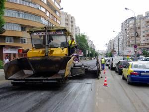 În ciuda lucrărilor, traficul este fluid