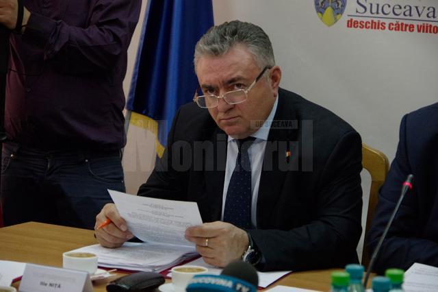 Vicepreşedintele PNL al Consiliului Judeţean Suceava, Ilie Niţă