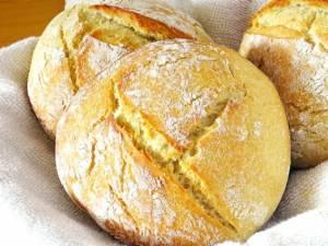 Pâine bucovineană cu cartofi
