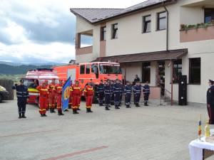 Punctul de lucru al ISU de la Poiana Stampei, inaugurat miercuri