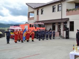 Membrii punctului de lucru al ISU de la Poiana Stampei
