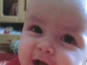 Fetiţa care a murit în martie 2011, la vârsta de 6 luni de zile