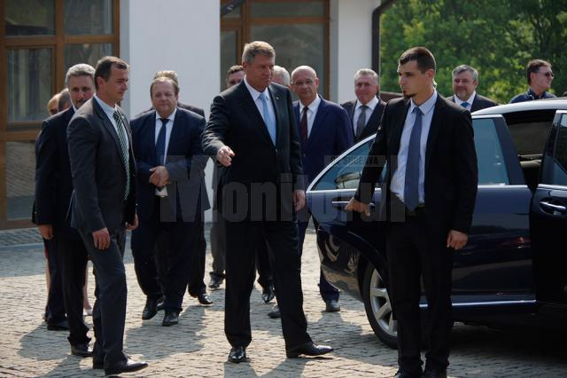 Preşedintele Klaus Iohannis a dorit să ocolească Fălticeniul