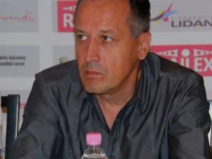 Preşedintele executiv al Rapidului, Dumitru Moldovan.