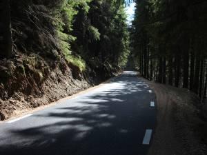 Şoseaua Transrarău are o lungime de 28 de kilometri