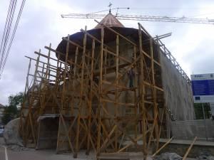 Restaurarea bisericii cu bani europeni