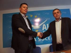 ALDE Suceava este condusă de doi copreşedinţi, deputaţii Cezar Cioată şi Constantin Galan