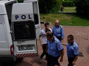 Doi dintre inculpaţi, Mihai Cristian Rădoi şi Emil Andrei Sima