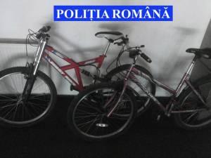 O parte din bicicletele recuperate de la hoţ
