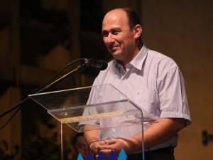 Coordonatorul lotului olimpic al României, prof. dr. Petru Crăciun