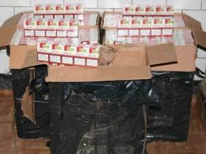 Şase percheziţii în judeţul Suceava la persoane bănuite de contrabandă cu ţigări