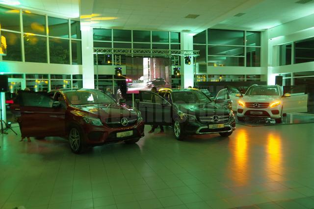 Conducerea companiei Auto Schunn a prezentat noile modele de SUV-uri Mercedes-Benz