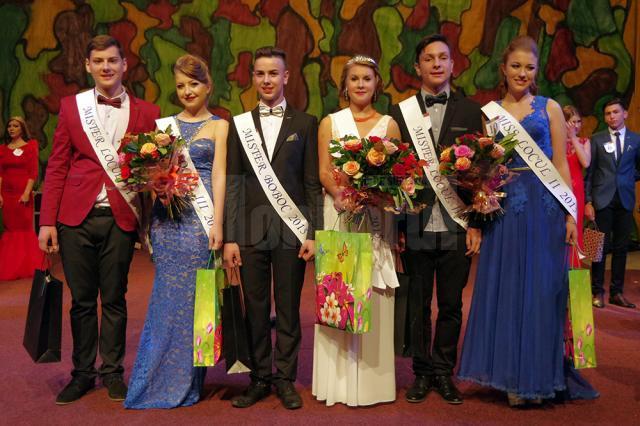 Câştigătorii concursului de Miss şi Mister Boboc